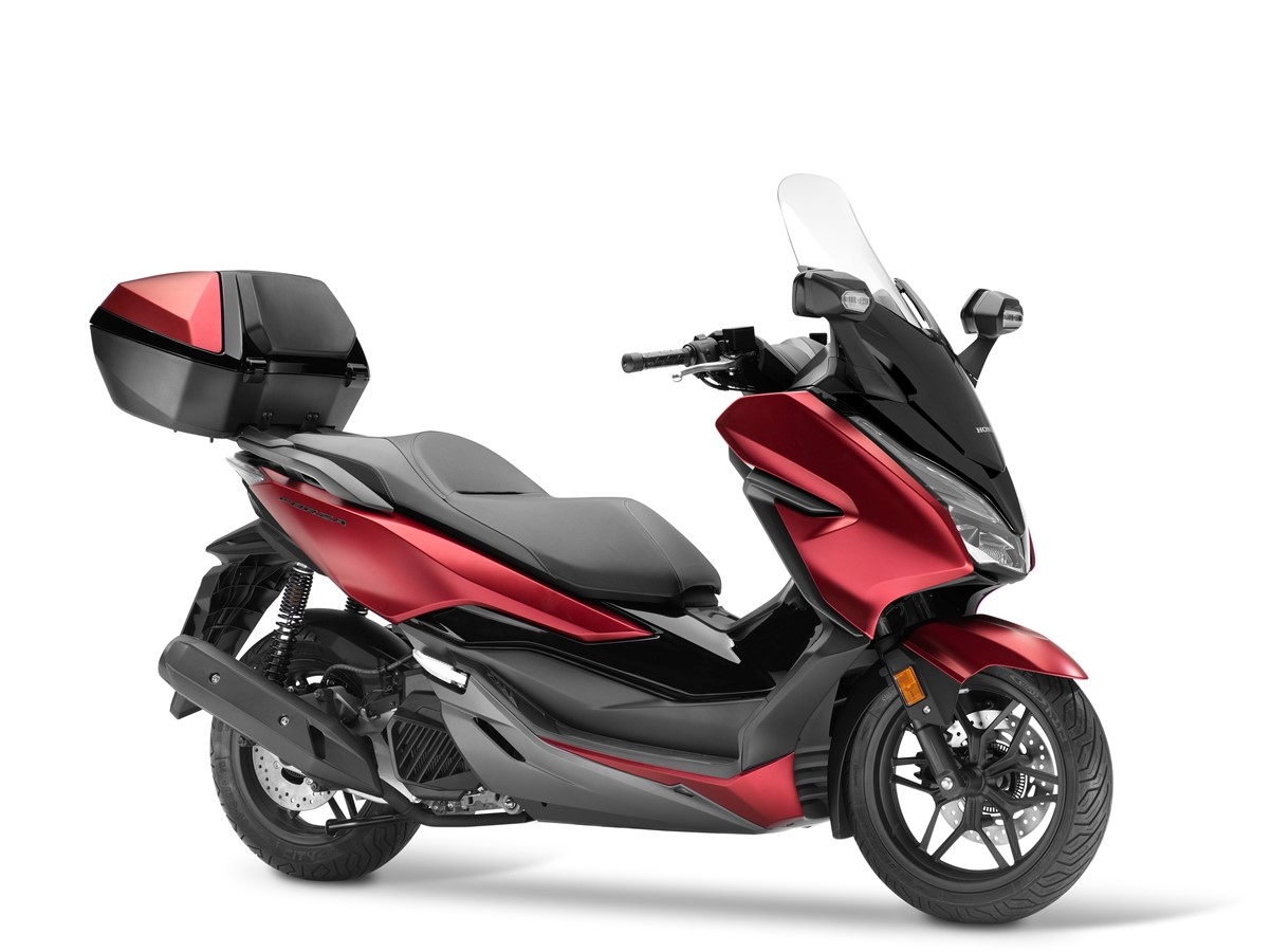 scooter honda forza 125 abs top box neuf. Black Bedroom Furniture Sets. Home Design Ideas